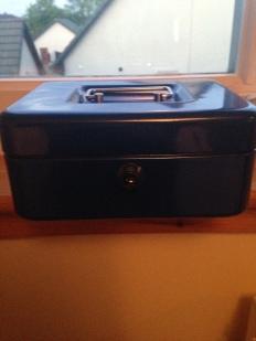 Money lock box for car expenses