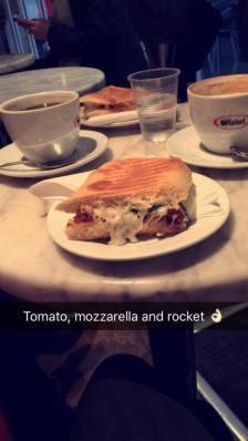 Tomato, Mozzerella and Rocket